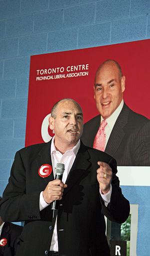 George Smitherman in Toronto, Ontario, Canada