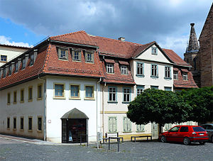Otto Dix - Otto Dix House in Gera. The artist's birthplace opened as a museum in 1991.