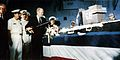 Gerald Ford cutting cake on USS Nimitz (CVN-68) 1975.jpg