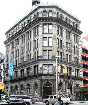 Spring Street (Manhattan) - The Germania Bank Building