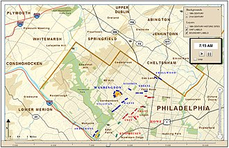 Philadelphia campaign - Battle of Germantown Snapshot