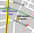 Gethsemanekirche Berlin Map.PNG