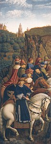 Ghent Altarpiece E - Just Judges by Vanderveken.jpg