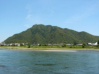 Siege of Inabayama Castle - Mount Kinka, known as Inabayama at the time of the battle