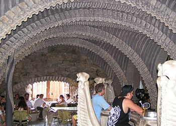 English: Giger Bar in Gruyeres, Switzerland. T...