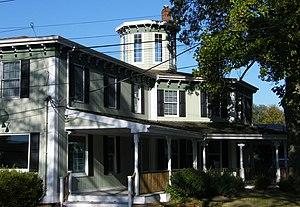 Andrew Gildersleeve Octagonal Building - Image: Gildersleeve octagon