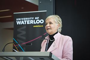 University of Waterloo Stratford Campus - Ginny Dybenko is the Executive Director of the University of Waterloo Stratford Campus.