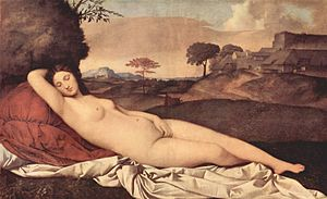 Sleeping Venus (Giorgione)