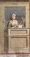 Giotto di Bondone - No. 40 The Seven Virtues - Prudence - WGA09267