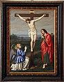 Giovan Battista Salvi detto il Sassoferrato, Cristo crofisso tra un angelo e San Giovanni Evangelista.jpg