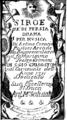 Giovanni Battista Pescetti - Siroe re di Persia - titlepage of the libretto - Venice 1731.png