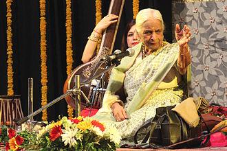 Bharat Bhavan - Girija Devi performing at Uttar Pradesh Mahotsav, July 2015