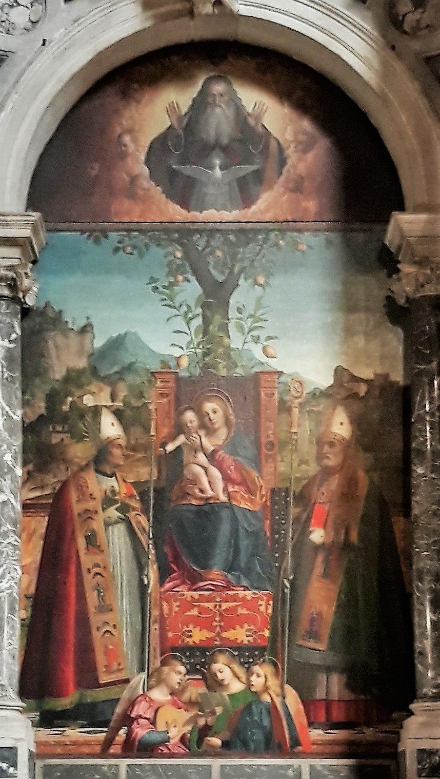 Girolamo Dai Libri - Madonna Della Cintura
