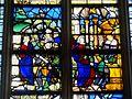 Gisors (27), collégiale St-Gervais-et-St-Protais, collatéral sud, verrière n° 20 - vie de sainte Barbe 3.jpg