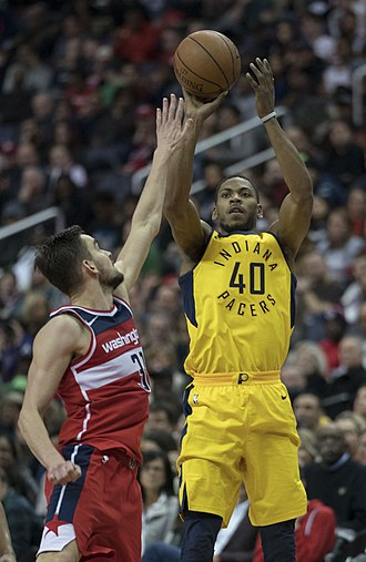 Glenn Robinson III - Robinson with Pacers in 2018