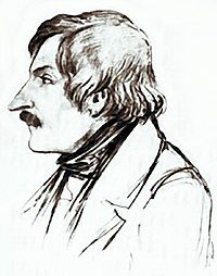 Gogol in the 1840s.