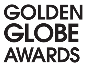 English: Golden Globe logo White Version