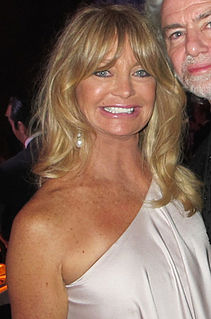 Goldie Hawn American actress, film director, and producer