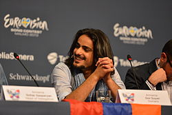 Gor Sujyan, ESC2013 press conference 06.jpg