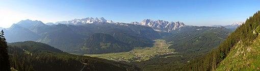 Gosau Panorama 1 Bild Karl Posch