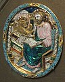Gospel cover medallion - S.Luke (1670-80s, GTG) by shakko.jpg
