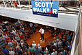 Governor of Wisconsin Scott Walker (and Scott Brown) at Seacoast Harley Davidson in North Hampton NH on July 16th 2015 by Michael Vadon 12.jpg
