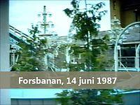Fil:   Den grønne Lund Forsbanan (1987).   webm