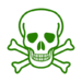 Grünes skelett