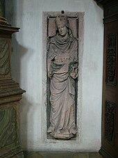 Hemma's tomb in the monastery of Sankt Emmeram