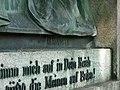 Grabstätte Familie Seitz - Detail Reliefinschrift 1 - Hauptfriedhof Freiburg 1.jpg