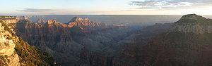García López de Cárdenas - Image: Grand Canyon North Rim Panorama Sept 2004