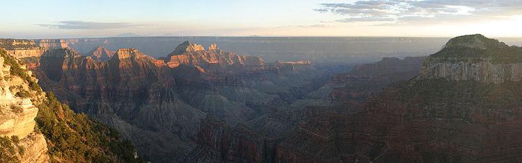 Portale scienze della terra territorioscuola enhanced for Grand canyon north rim mappa della cabina