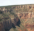 Grand Canyon National Park, Bright Angel Trail from Grandeur Point 0008 - Flickr - Grand Canyon NPS.jpg