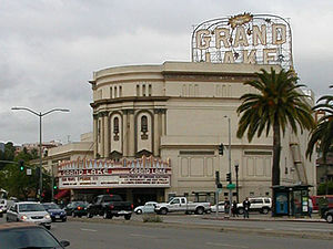 Grand Lake, Oakland, California - The Grand Lake Theater