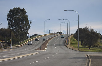 Rosewater, South Australia - The Redhill Bridge which goes over the Outer Harbor railway line