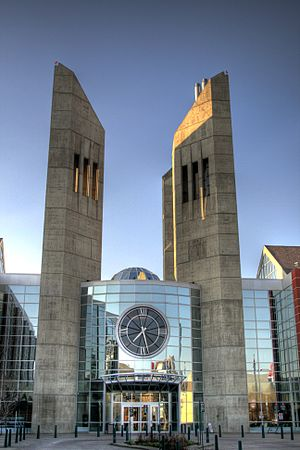 MacEwan University - Main entrance of MacEwan City Centre Campus.