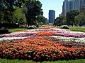 Grant Park Chicago garden near 9th Street.JPG