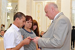 Granting the Order of Courage to Danil Sadykov 2012-07-26 (4).jpg