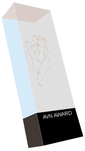AVN Award - Image: Graphic AVN trophy