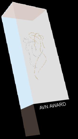 AVN Award - Image: Graphic AVN trophy