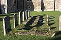 Gravestones at Snailwell - geograph.org.uk - 1067272.jpg