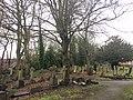 Graveyard, St Cuthbert's Church, Durham.jpg
