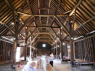 Manor Farm, Ruislip - Great Barn interior