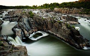 Great Falls Park - Image: Great Falls National Park the falls 01