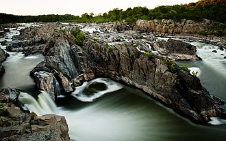 Great Falls Park - Image: Great Falls National Park the falls 01