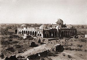 Jama Mosque Gulbarga - Jama Masjid Gulbarga