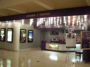 Greenway Plaza - Image: Greenway Plaza Theater Landmark Houston
