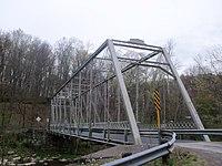 Grimms Bridge from west, slightly upstream.JPG