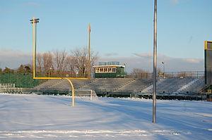Grosse Pointe North High School - American football field