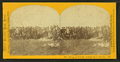 Group of excursionists at Camp No. 1, Columbus Nebraska, by Carbutt, John, 1832-1905.png